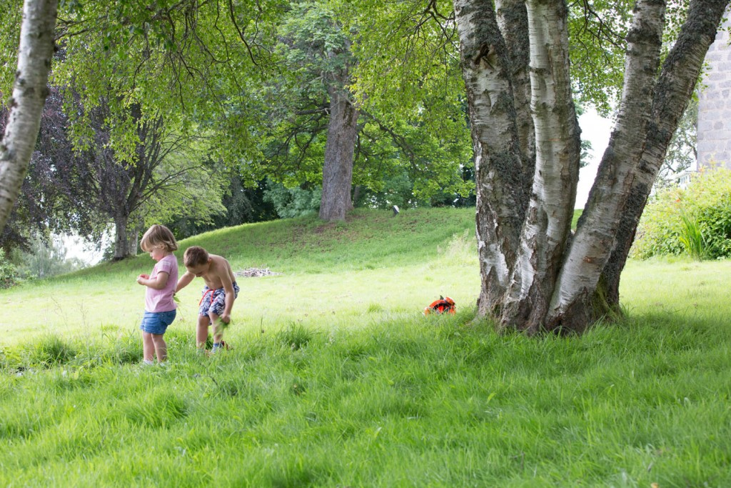 Holidays in the highlands in summer