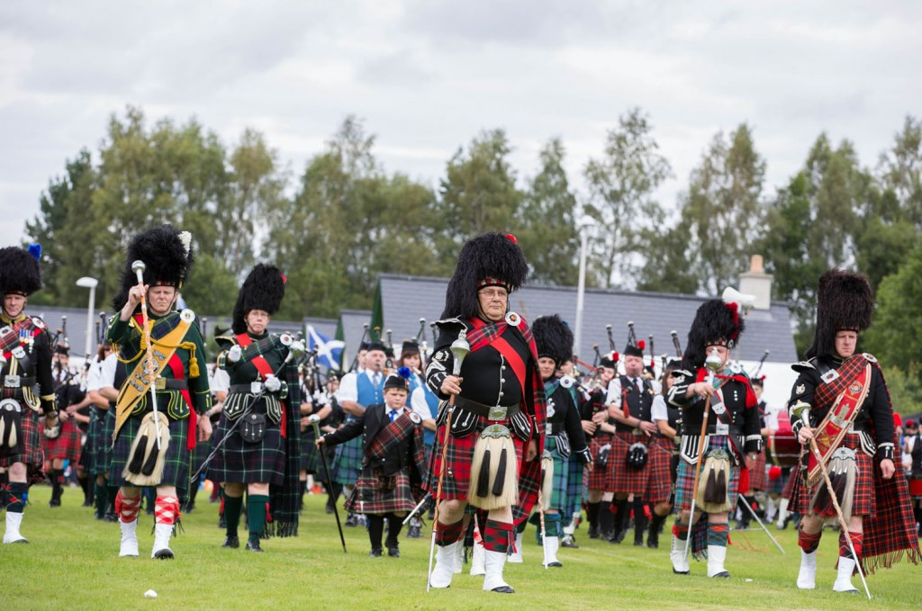 Summer holidays filled with highland games