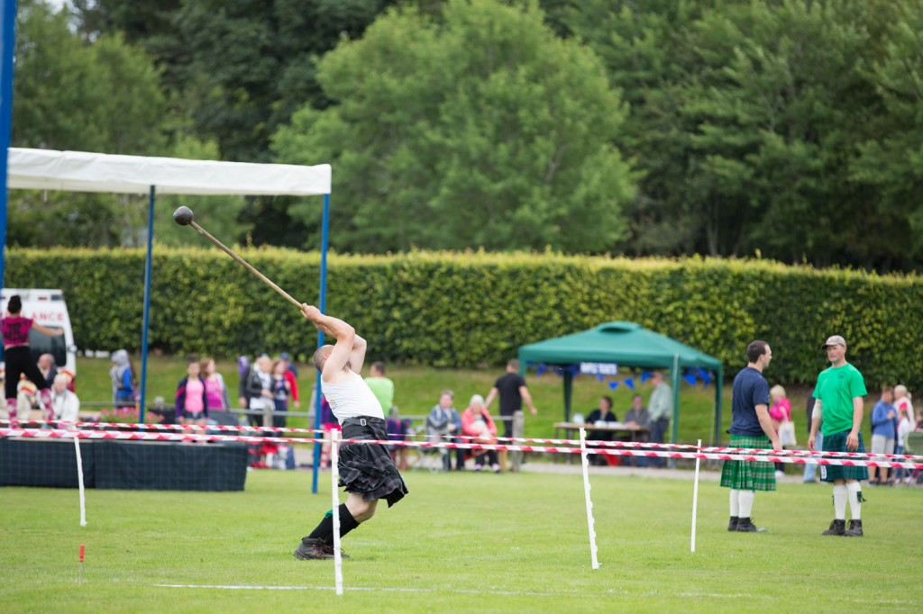 scot's hammer at highland games