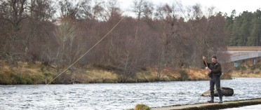 Fishing on the Spey