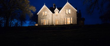 Muckrach Country House Hotel at twilight