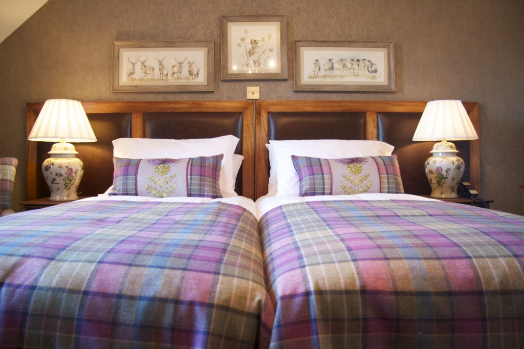 Dalwhinnie is a double and twin room
