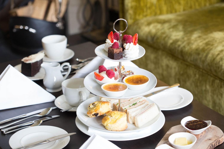 Luxury Scottish Highlands Accommodation - Afternoon Tea