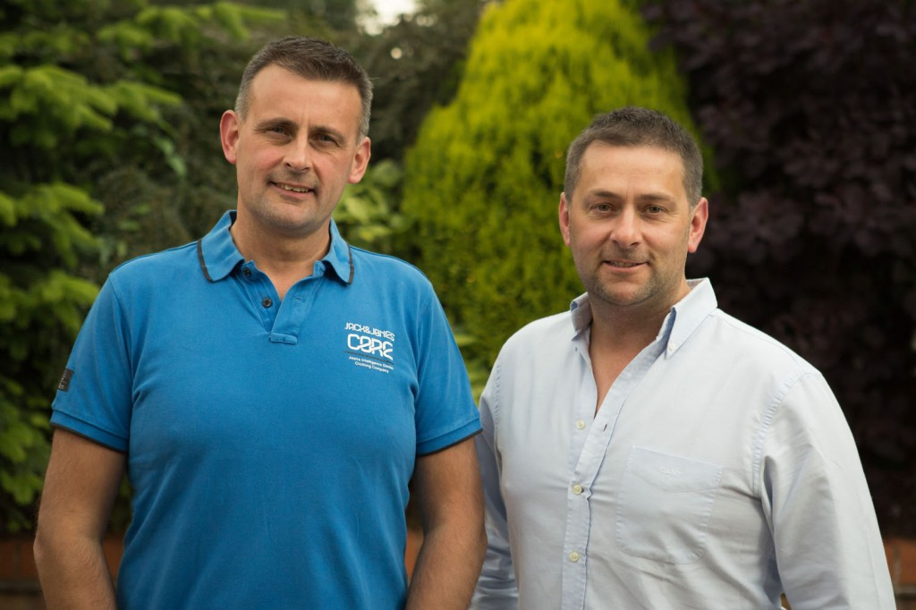 Phil & Ed Cowap, brothers and new owners of a highland hotel