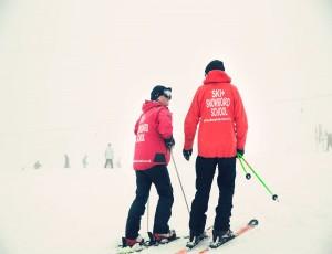Ski season in the Cairngorms