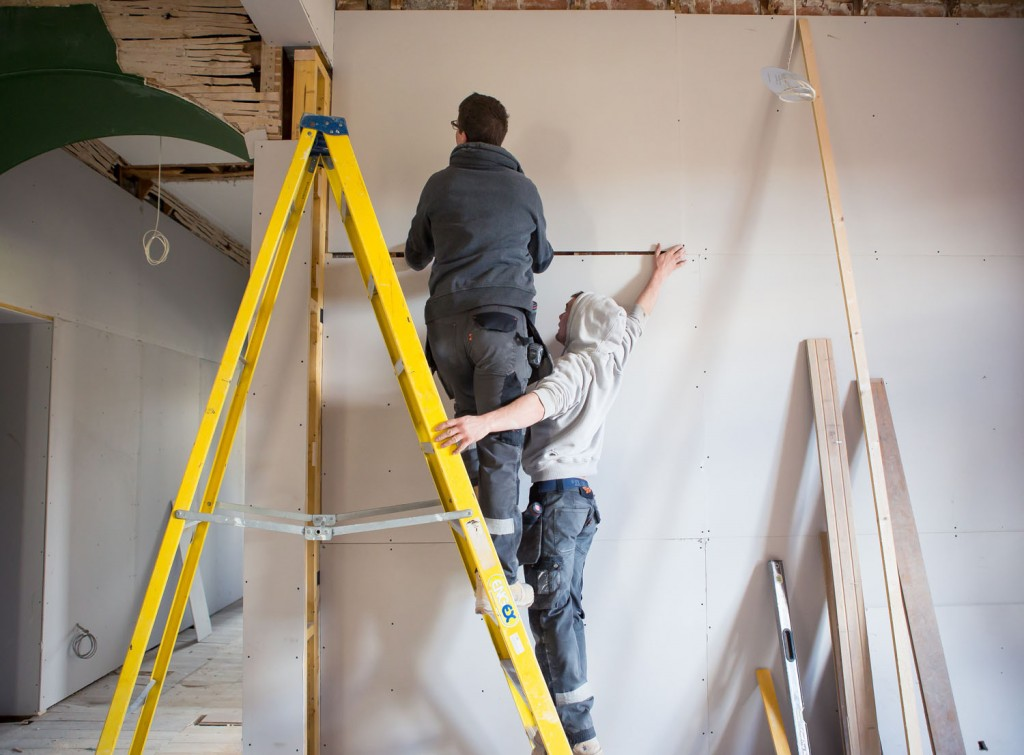New electrics, new plumbing, new insulation