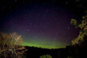 Northern Lights at Muckrach