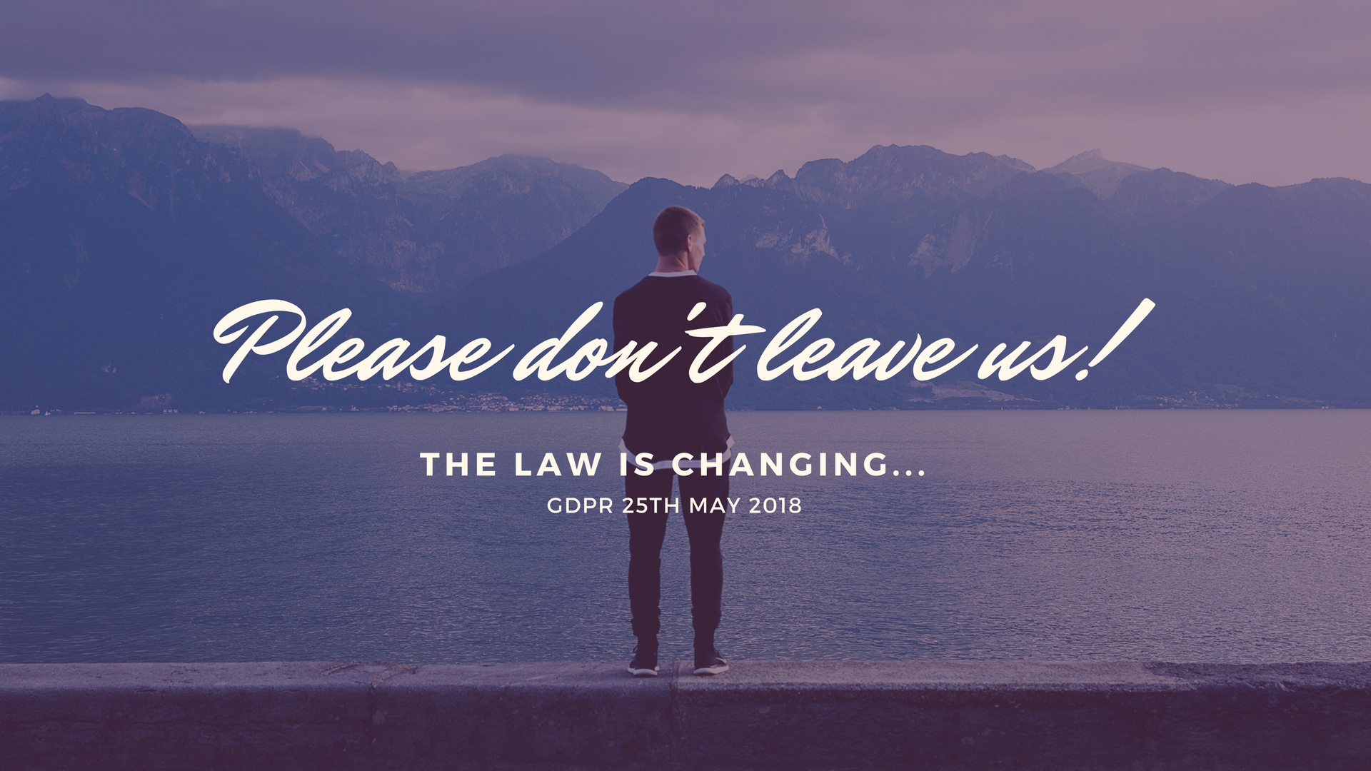 The law is changing…