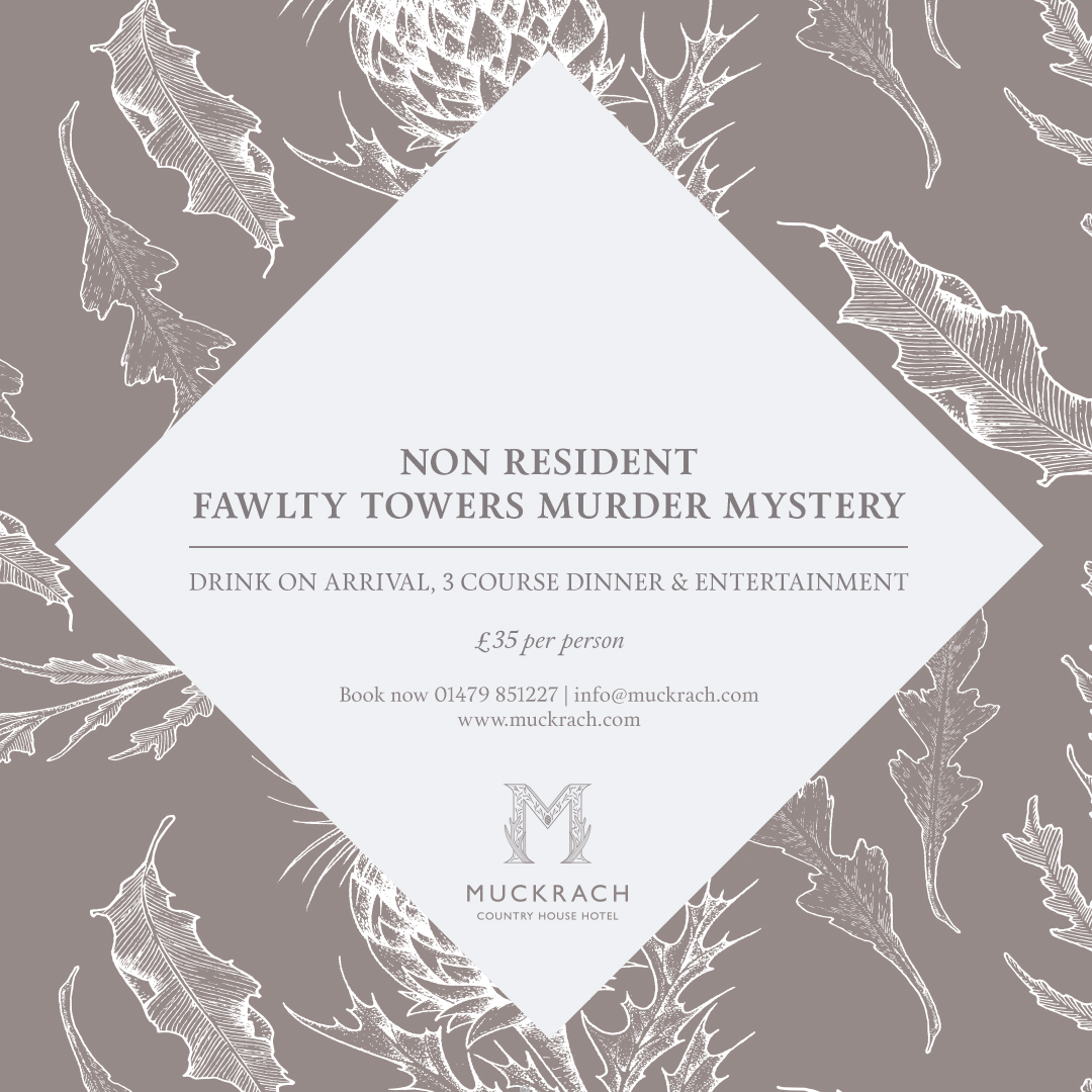 Non Resident Fawlty Towers Murder Mystery