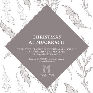 The Launch of Christmas at Muckrach